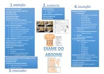Exame do Abdome - resumex
