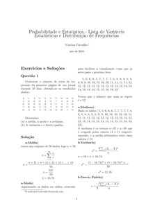 [Variáveis Estatísticas] Solução - Q1 e Q2