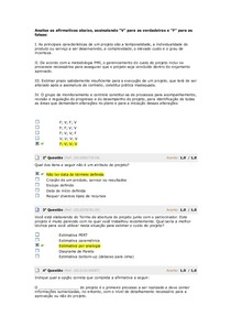GERENCIAMENTO DE PROJETOS   avaliacao 3