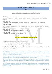 RESUMO - DIREITO PENAL IV