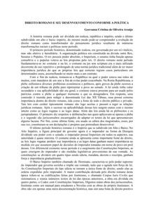 DIREITO ROMANO E SEU DESENVOLVIMENTO CONFORME A POLÍTICA docx