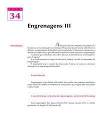 DESENHO MECANICO CAP 34 - Engrenagens PARTE 3