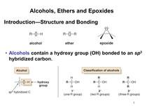 Aula De Alcoholseteres And Epoxides 1 Parte Química Orgâ 2