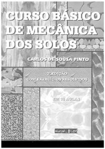 Curso Básico Mecânica dos Solos - Carlos de Souza Pinto