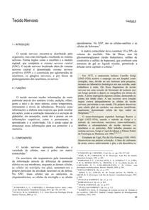 Apostila de histologia do sistema nervoso