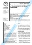 NBR 08451   1998   Postes de Concreto Armado para Redes de Distribuição   Especificação