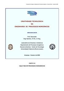 2008AZ-COPEIQ-UNSA-CriatividadeTecnologicanaEngenhariadeProcessosInorganicos-Parte30