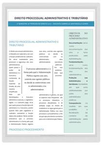 Apostila direito processual administrativo e tributário
