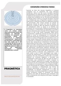 Pragmática: concepções e principais teorias