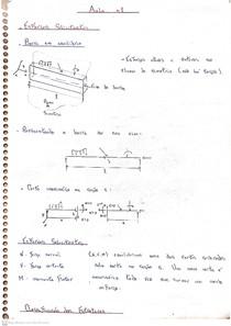 Resistência dos Materiais I - Notas de aula e exercícios resolvidos