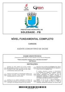 2 AGENTE COMUNITARIO DE SAUDE PROVA