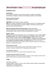 Resumo Semiologia- 1 semestre medicina