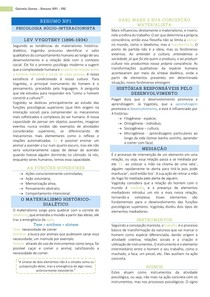 Resumo NP1 - Psicologia Sócio-Interacionista