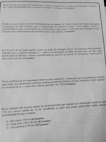 A2 Estatistica e Probabilidade - Gilbert Santos (nov/14