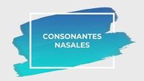 Consonante Nasales