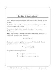 Resumo algebra Linear