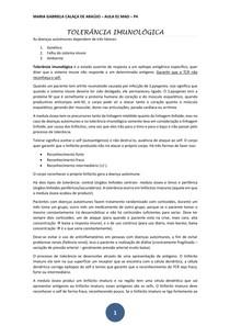 TOLERÂNCIA IMUNOLÓGICA-01 transcrição
