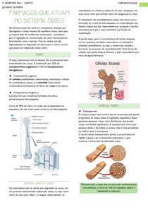 Fármacos que atuam no sistema ósseo