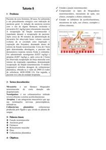 Junção Neuromuscular; Bloqueadores Neuromusculares; Inibidores da Acetilcolinesterase docx