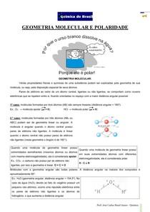 Geometria e Polaridade (Prof Brasil)