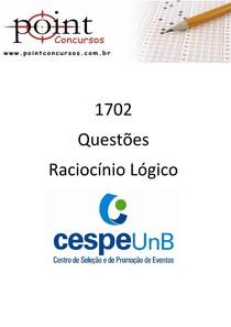 1702   Questoes CESPE   Racioc�nio L�gico