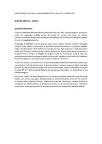 CASO CONCRETO 3 - CONSTITUCIONAL