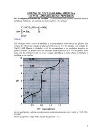 GDs Bioquímica 1 e 2