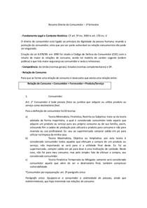 Resumo Direito do Consumidor  imprimir 1 bim