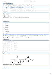 AE2-Uso de Calculadora Cientifica
