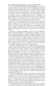 Processo Eleitoral dos Estados Unidos e seus reflexos no Brasil