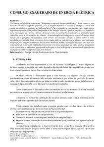 Paper - Seminário Interdisciplinar III