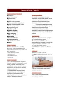 Exame Físico Geral 2