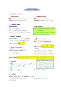 Teoria dos Números (Resumo)