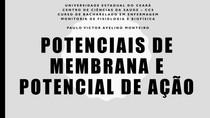 Potenciais de membrana e potencial de ação