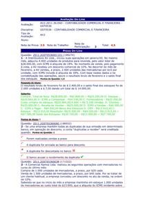 AV2 Contabilidade Comercial-