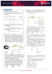 Testes de Associação de resistores