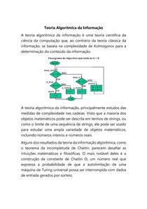 Teoria Algorítmica da Informação
