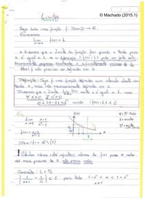 (MAC218) Caderno de Cálculo I (Profº Samuel - 2015.1)