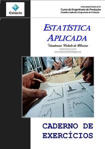 Estatística Aplicada - exercícios