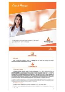 Manual de Estagio em Series Iniciais do Ens Fund (1º e 2º anos) 2p
