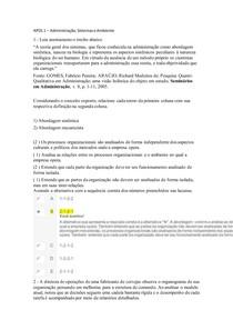 APOL 1 (Aula 1,2 e 3)