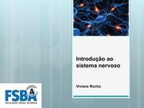 Introdução ao sistema nervoso - aula 1
