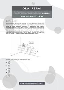 Questão Resolvida ENEM 2019 - 12 - Eletromagnetismo