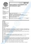NBR 7007   Acos carbono e microligados para uso estrutural em geral
