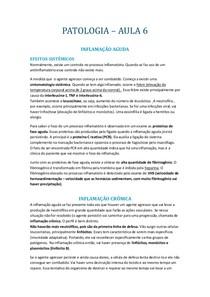 PATOLOGIA INFLAMAÇÃO AGUDA III