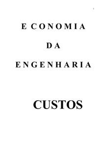 EconomiaEngenhariaCustos_apostila