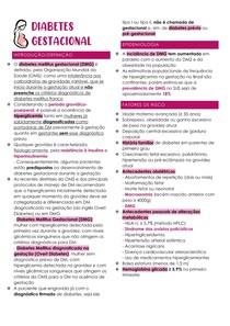 Diabetes Gestacional e Alterações do Líquido Amniótico