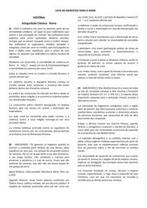 Lista de Exercicios Historia ENEM