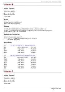 '' Sumulas - STJ '' pdf