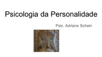 Psicologia da Personalidade